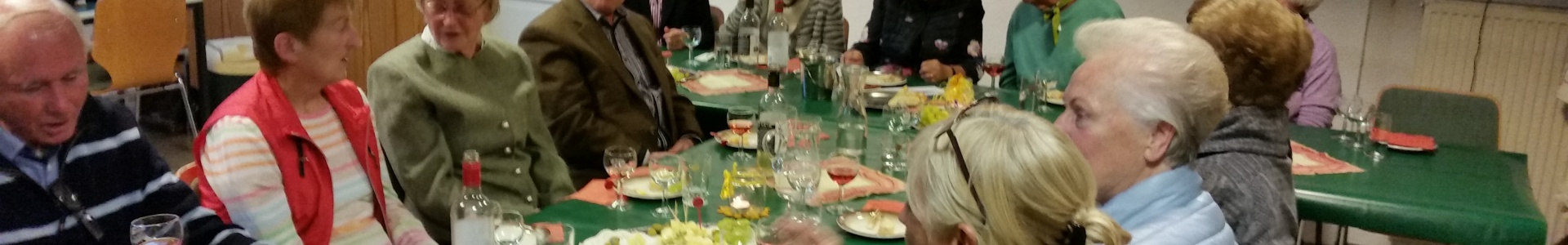 Weinprobe in der Remise