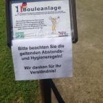 Nutzungs- und Hygienekonzept für die Bouleplätze der DFG Bad Harzburg e.V. ab 21. Mai 2020