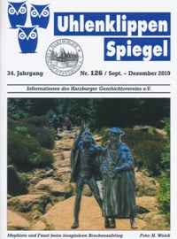 Pressemitteilung des Harzburger Geschichtsvereins und der Deutsch-Französischen Gesellschaft Bad Harzburg am 18.8.2020