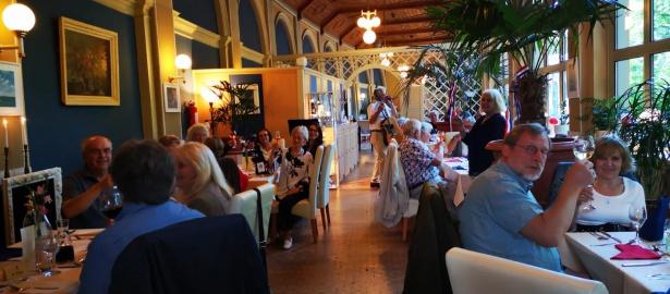 Französischer Nationalfeiertag im Palmencafé